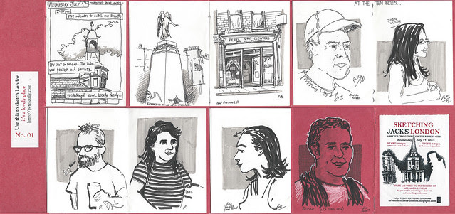 sketching jack's london micro-sketchbook sm