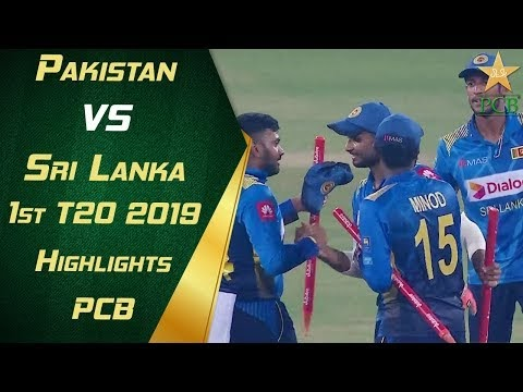1st T20 Pakistan vs Sri Lanka 2019