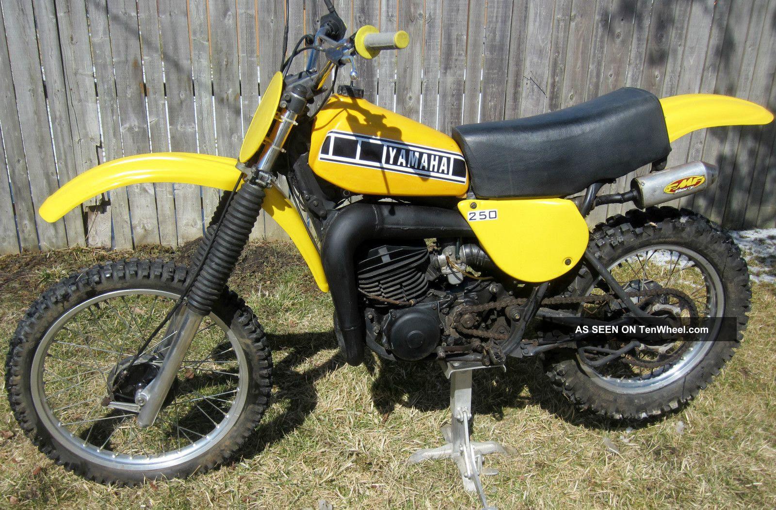 Vintage Yamaha Dirt Bikes