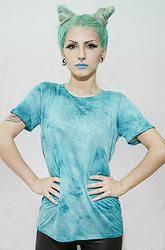 T-Shirt  Aqua Marine - Coleção Lindsay Woods