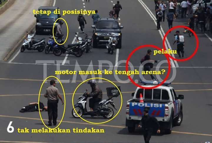 Foto Janggal di Tragedi Bom Sarinah 6