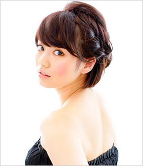 【ショートヘア編】結婚式のお呼ばれ髪型に、簡単アレンジ とき  - ショートヘアアレンジ結婚式画像