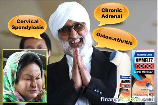 Rosmah Mansor and Lawyer Jagjit Singh - MC Trick - Yoko Yoko