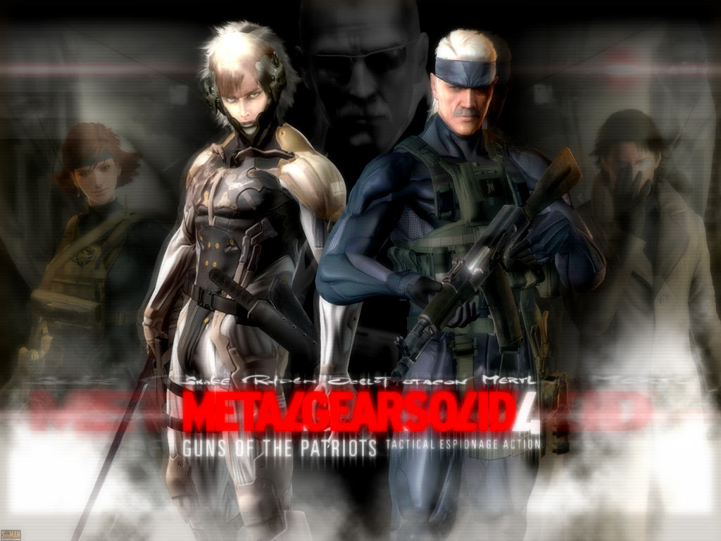 New Wallpaper Metal Gear Solid 4 Wallpaper