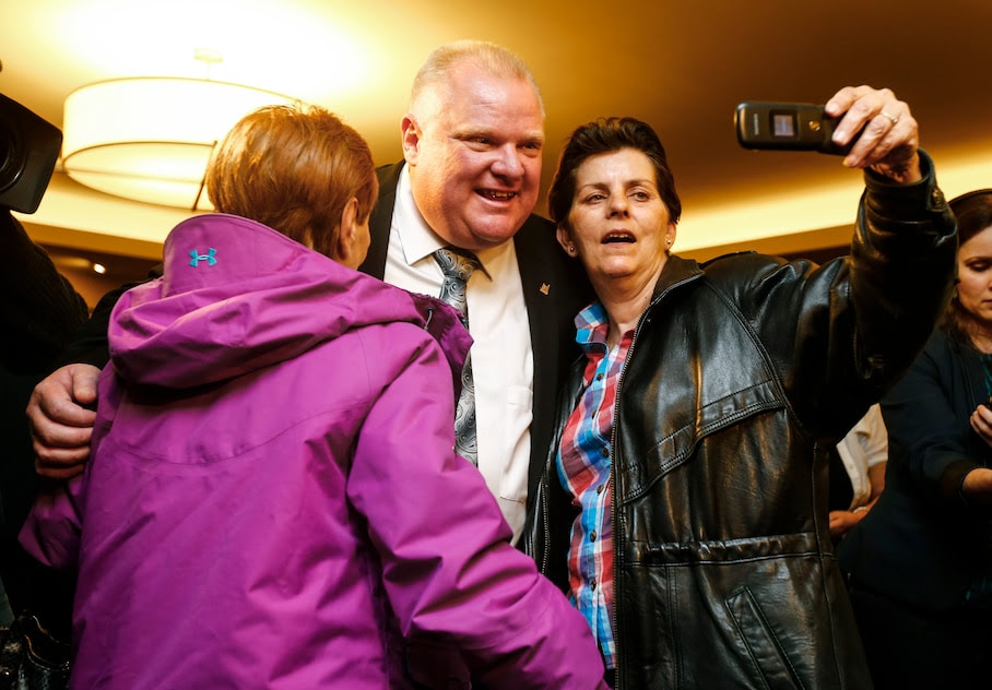 http://www.washingtonpost.com/blogs/the-fix/wp/2014/08/28/rob-ford-is-gaining-in-the-polls-and-could-win-reelection-despite-being-rob-ford/