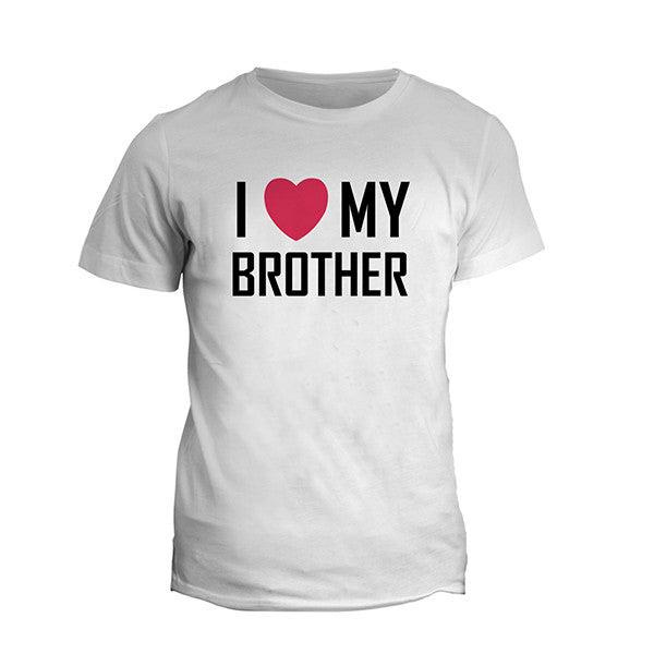 I Love My Brother T Shirt Photoexpressin