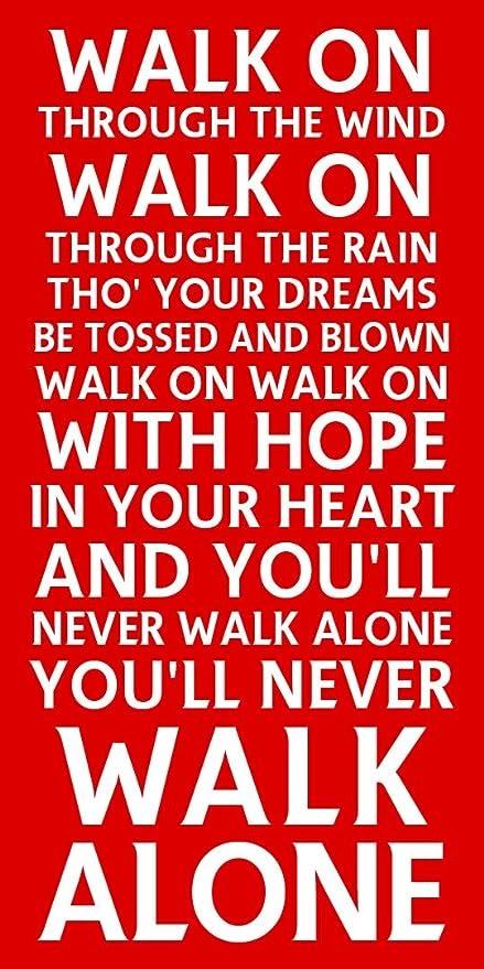 Youll Never Walk Alone Lyrics