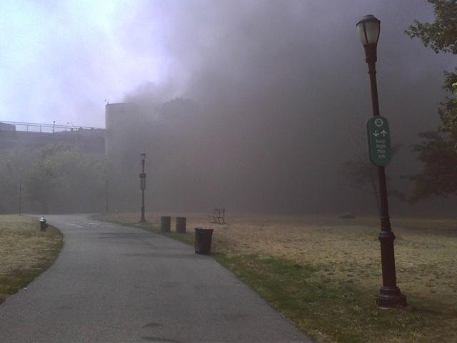Wastewater Treatment Plant Fire