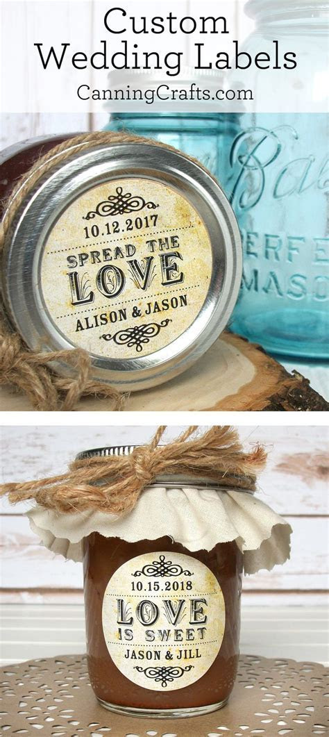 25  best ideas about Wedding favor labels on Pinterest