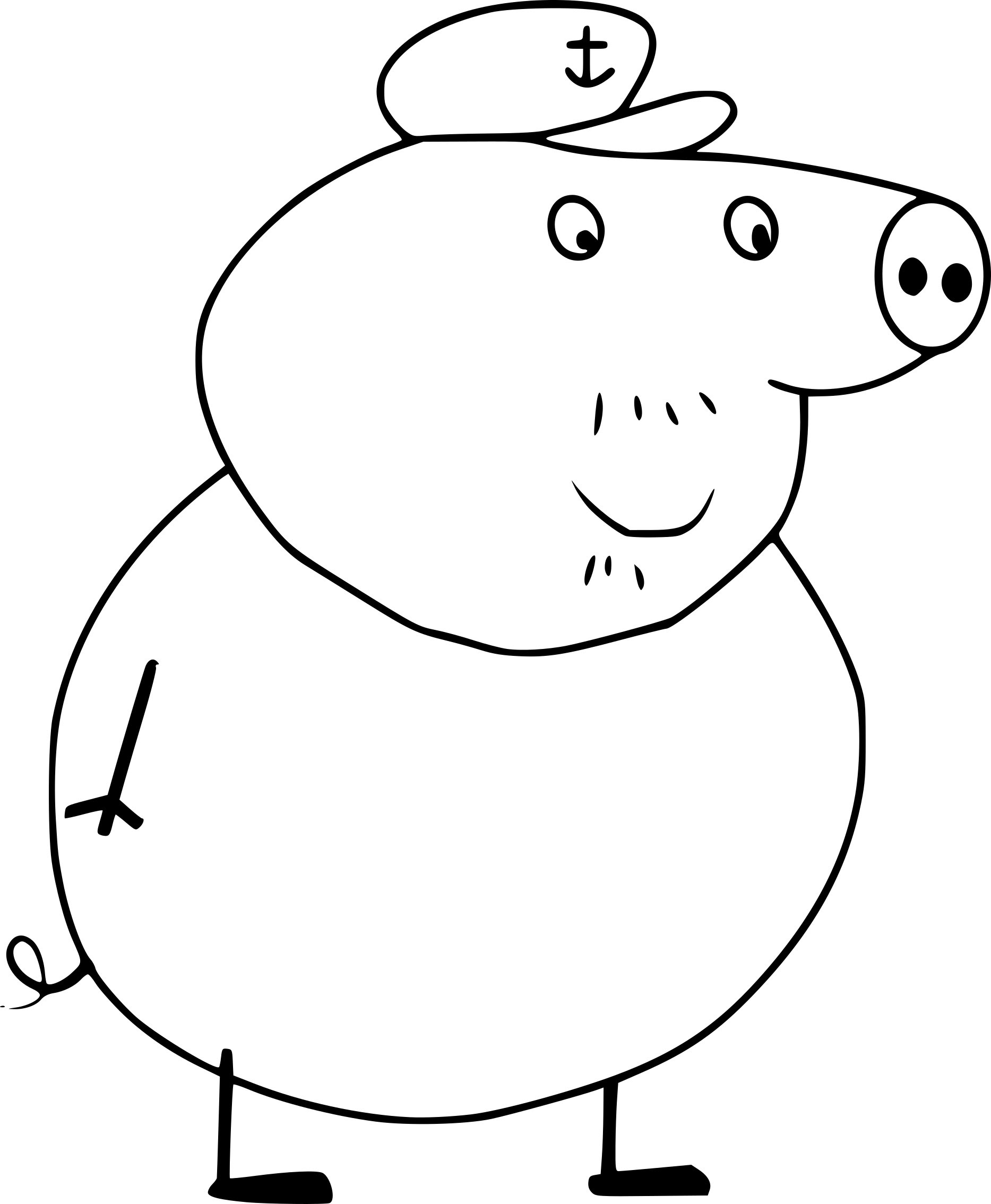 latest peppa pig coloriage with peppa pig coloriage