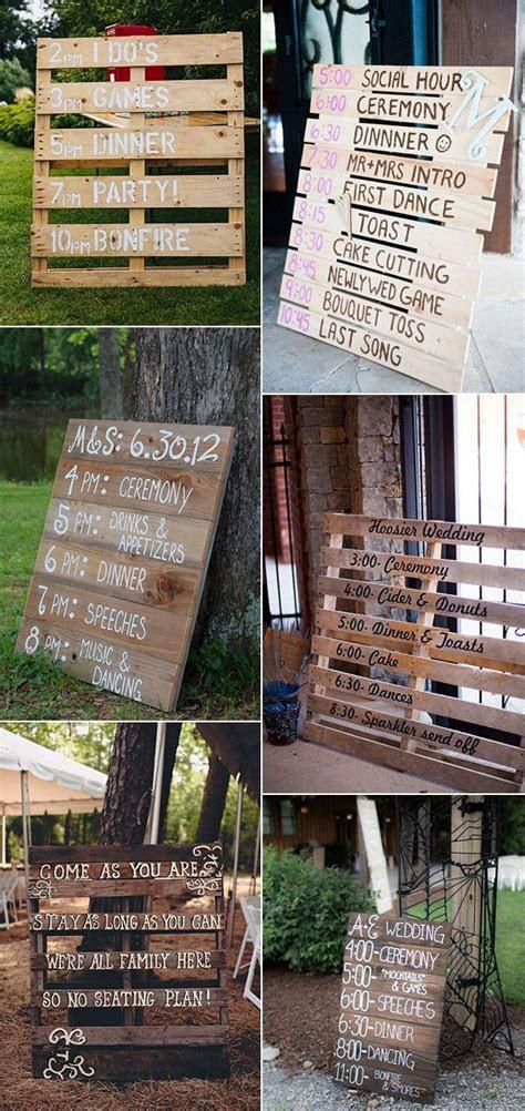 25  best ideas about Wedding pallet signs on Pinterest