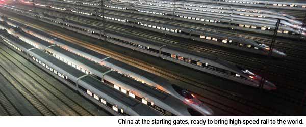 China at the starting gates