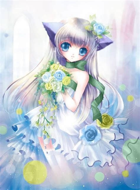 pin  anime girl wolfs