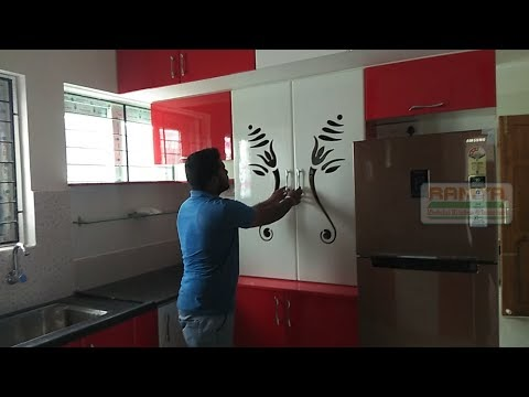 Ramya Modular Kitchen, Our Client Mr. Murugan Mylapore Chennai  Part - 1
