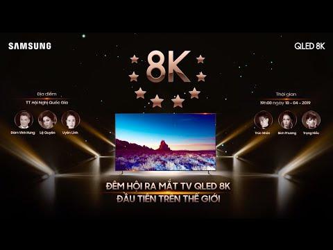 Sự kiện ra mắt chiếc TV QLED 8K đầu tiên trên thế giới