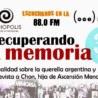 """Programa de radio """"Recuperando la memoria"""" 3 febrero 2015"""