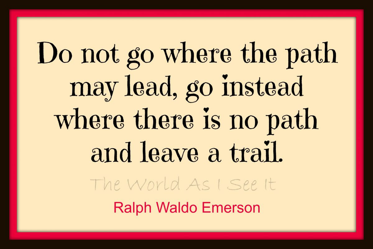 Ralph Waldo EmersonQuote Of The Week