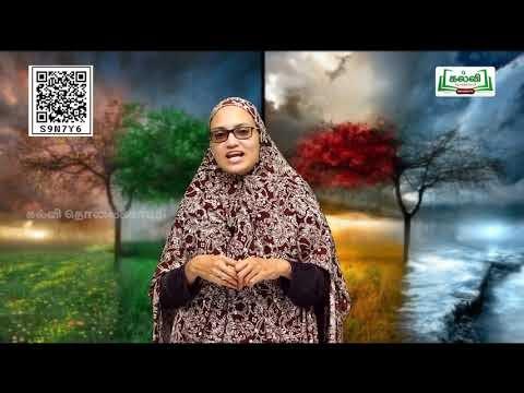 4th Social Science பருவம் 2  தமிழ் நாட்டின் இயற்கை அமைப்பு  அலகு 2  Kalvi TV