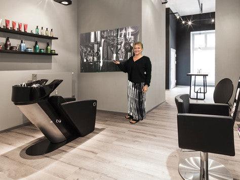Haircare Masterpiece 3 Piece Wall Art Canvas Hair Salon Decor