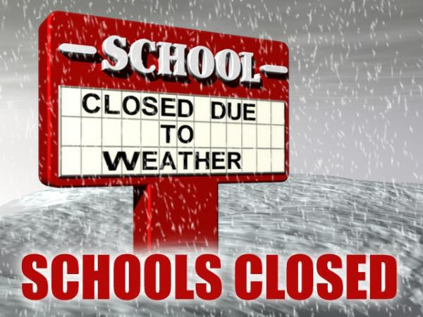 Schools in several provinces closed due to bad weather