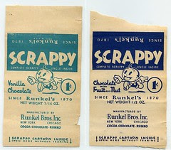 Scrappy candy wrapper