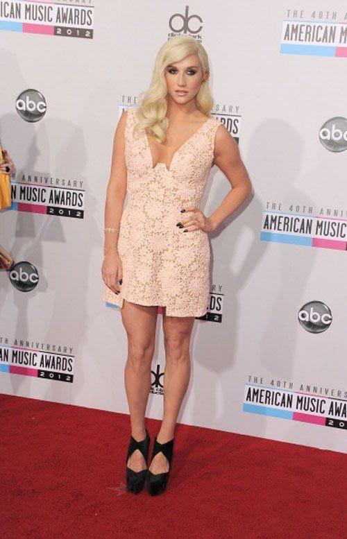 40th American Music Awards - November 18, 2012, Ke$ha