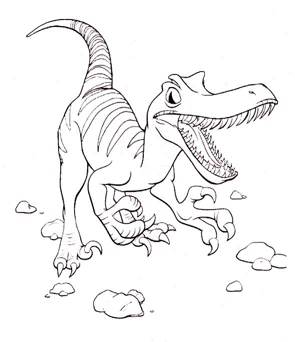 Ausmalbilder Dinosaurier 3 Ausmalbilder Tiere