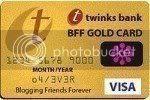 Gold card award