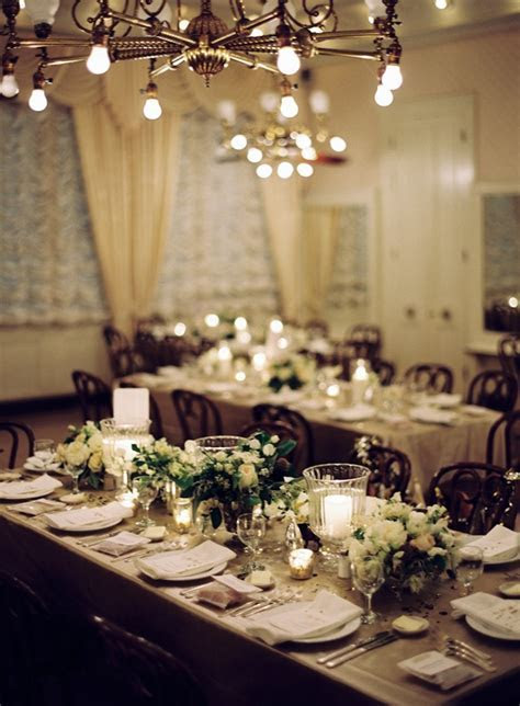 new orleans black tie wedding reception decor centerpieces