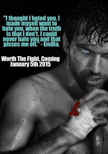 A quote by Emilia in Worth The Fight, an erotic romance by Beth Maria