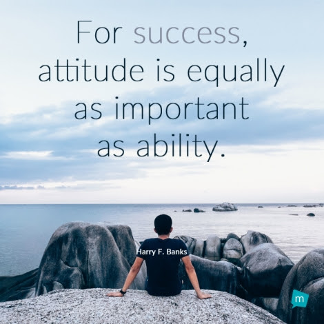 Harry F Banks Quote Ability Quoteattitude Quote For Success