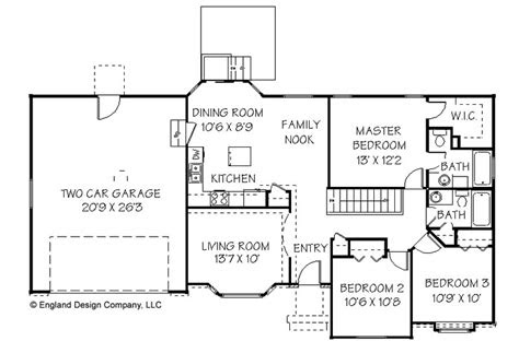 awesome simple home plans  simple ranch house plan