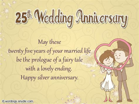 25th wedding anniversary cards   Wedding Anniversary Cards