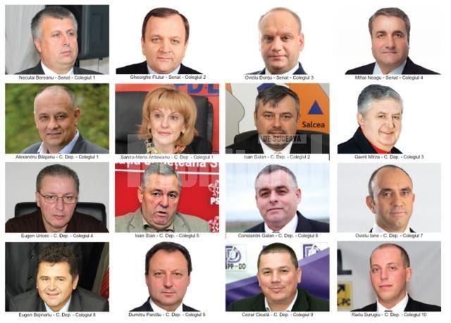 Lista ruşinii! Care sunt parlamentarii suceveni care au votat pentru alegerea primarilor într-un singur tur