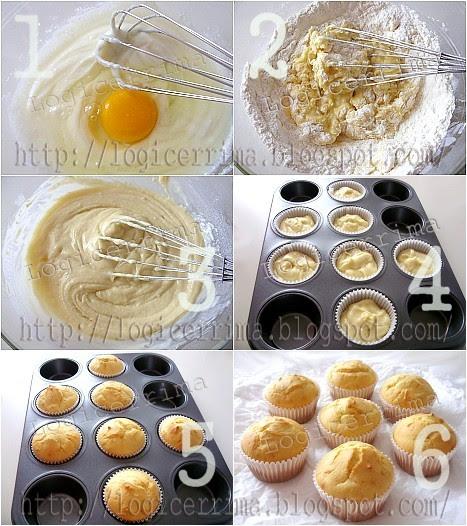 [ Muffins semplici con Ricotta senza Burro - ricetta passo passo ]