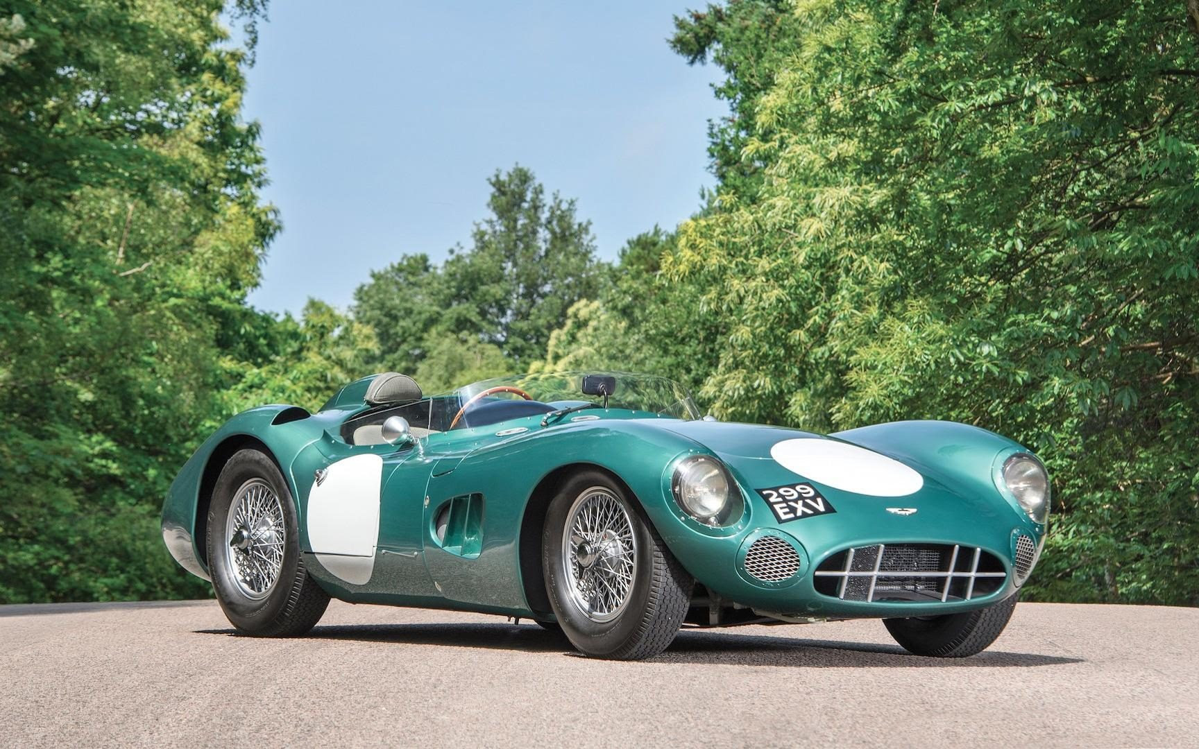 Classic car raced by Sir Stirling Moss