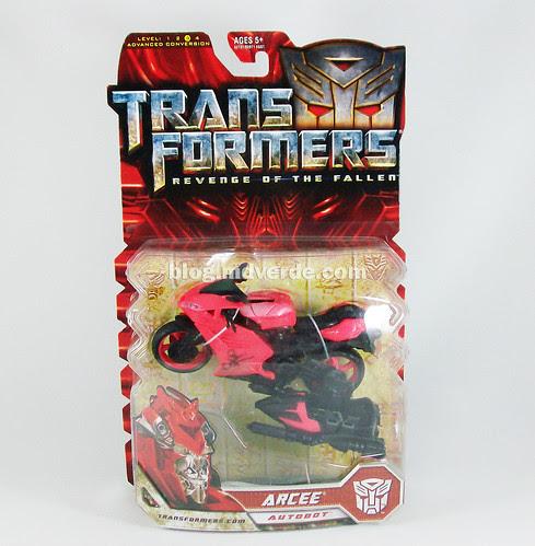 Transformers Arcee RotF Deluxe - caja