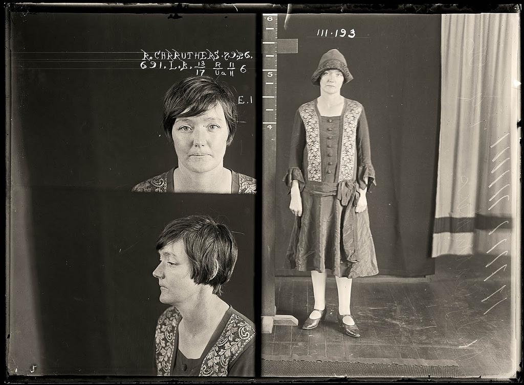 photo police sydney australie mugshot 1920 08 Portraits de criminels australiens dans les années 1920  photo photographie histoire featured art