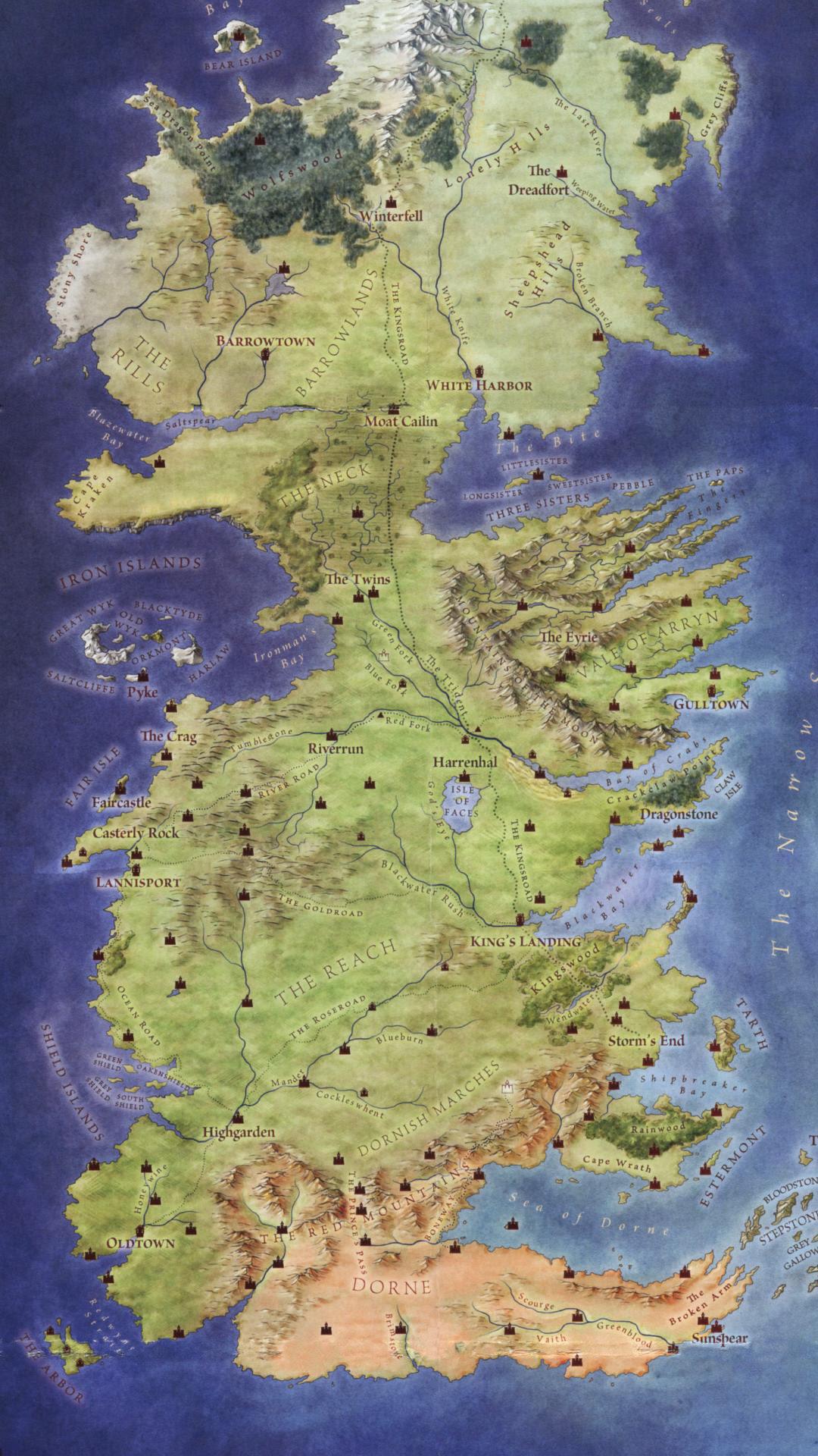 [No spoiler] Westeros phone wallpaper : gameofthrones