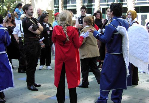 Full Metal Alchemist cosplayers