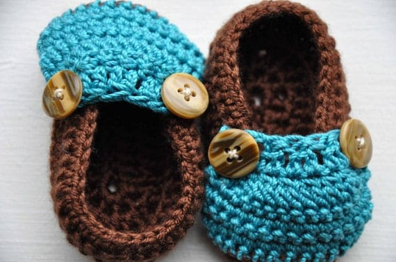 Two-Toned Mini Moccs