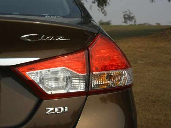 Maruti Ciaz rear badge