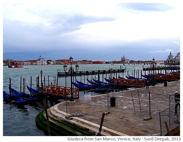 Venice walking tour, Giudeca, Italy - images by Sunil Deepak