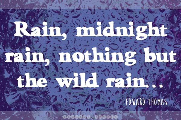 The 61 Best Quotes About Rain Curated Quotes