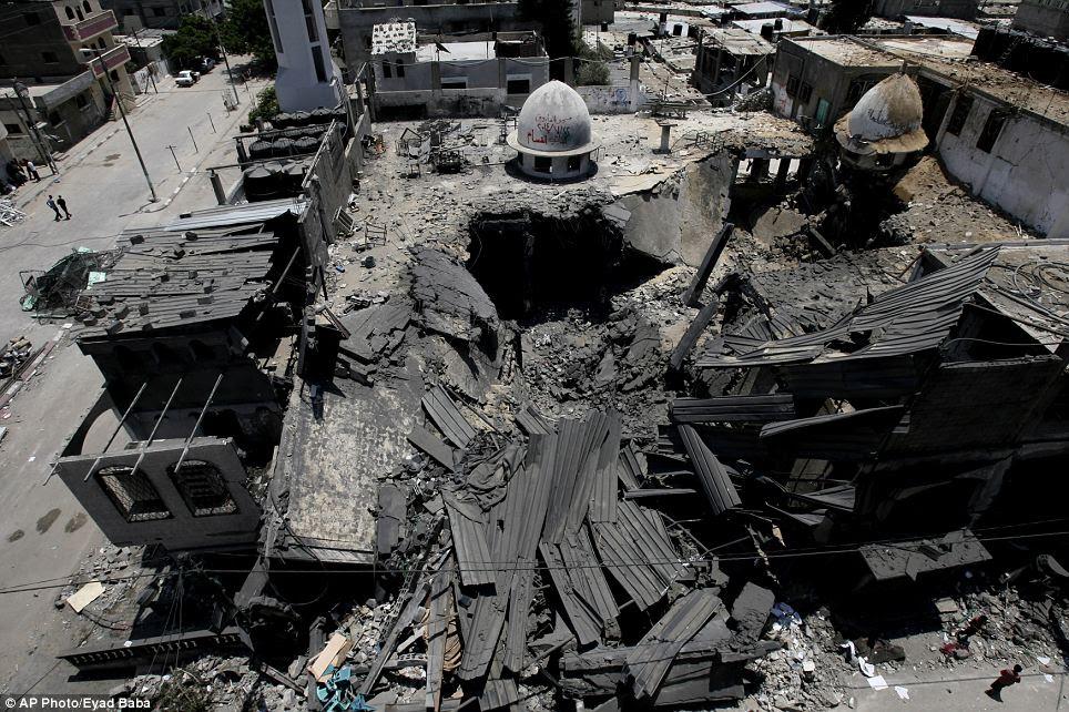 Hospital Dan Masjid Musnah Di Bedil Israel