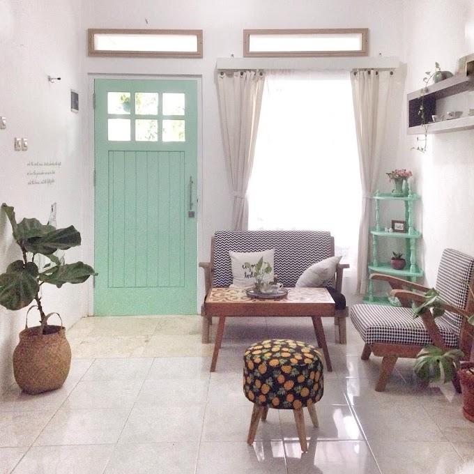 Memajang Foto Di Ruang Tamu | Ide Rumah Minimalis