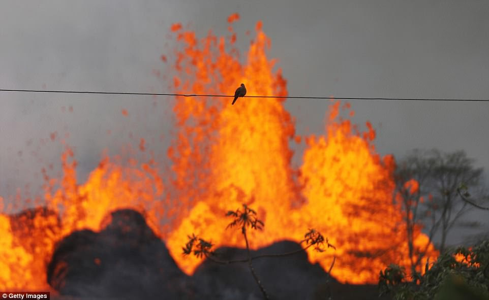 Hawaii's Kilauea volcano has been erupting for more than two weeks now, with locals subject to the sounds of near-constant explosions