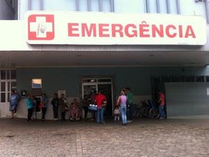 emergência, hospital, passo fundo, lagoa vermelha, rs (Foto: Mateus Koelzer/RBSTV)
