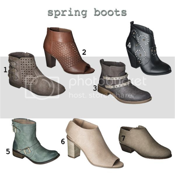 see the best selection of spring 2014 boots at Target