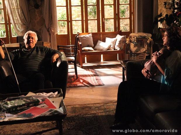 Mariah fala do passado com o antigo amor (Foto: Ellen Soares/ TV Globo)